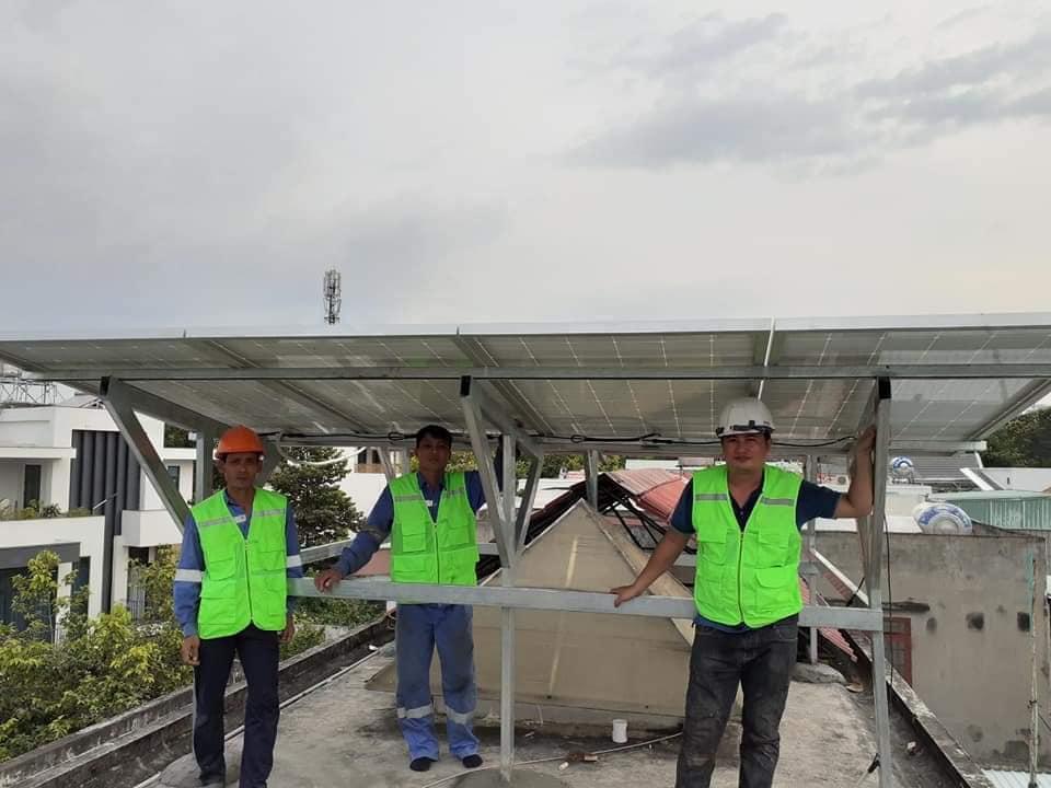 Hệ thống Điện Năng lượng mặt trời 5kw hòa lưới