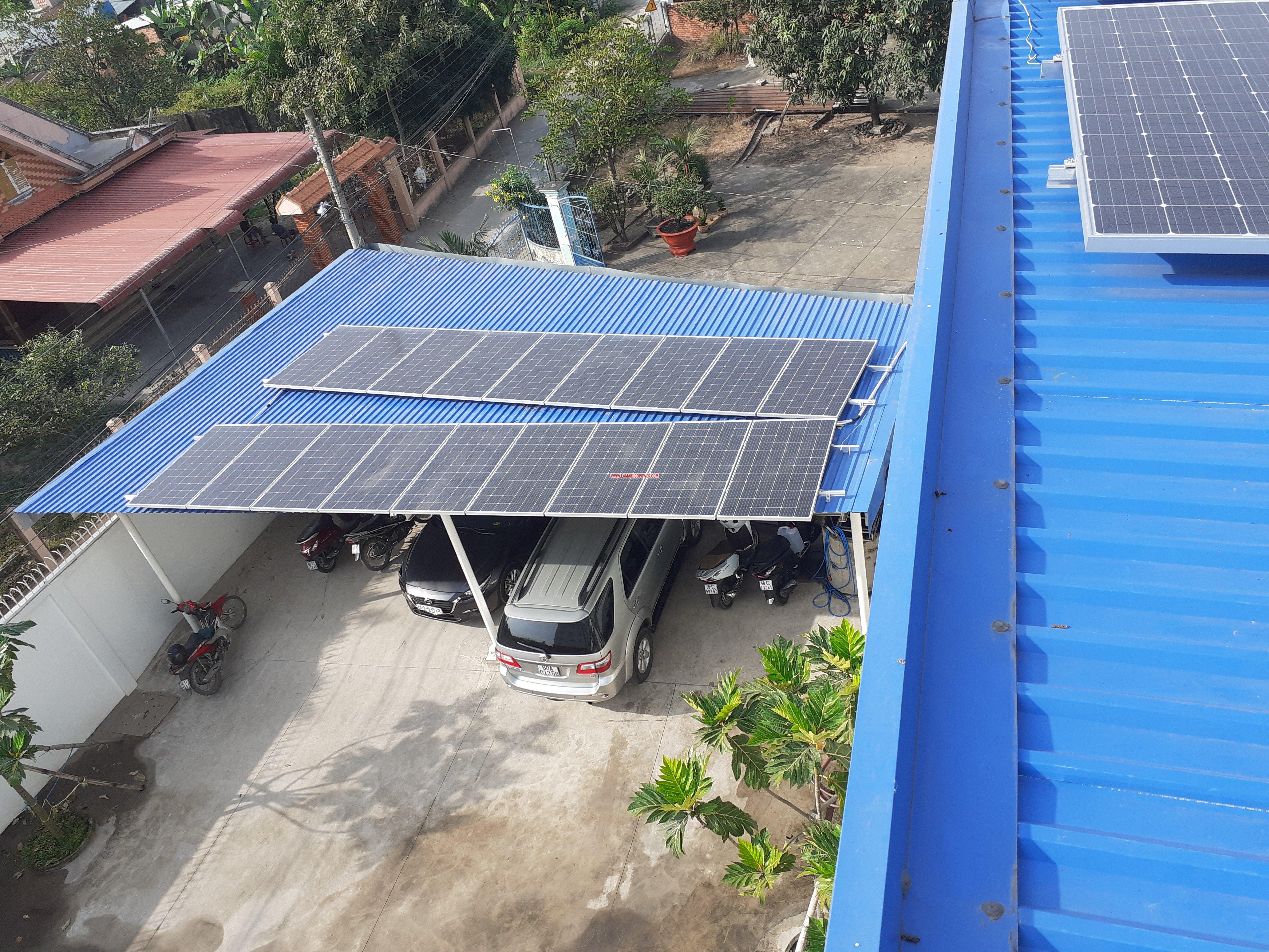 Doanh nghiệp và các hộ gia đình bán ngược điện mặt trời